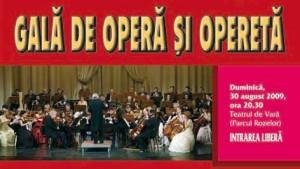Gala festivalului de Opera si Opereta Timisoara