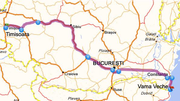 Harta / traseu