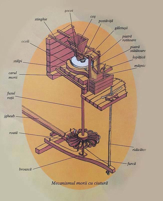 Mecanismul morilor de la Rudăria