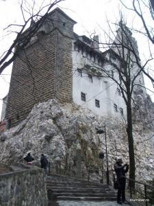 Castelul Bran 3 - privire de jos