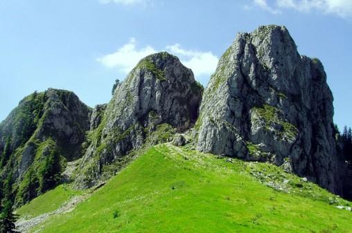 Hornurile Popii din Parcul National Buila Vanturarita