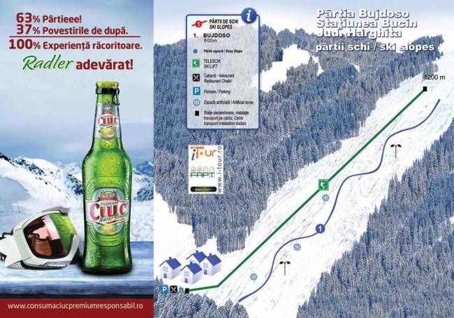 Harta partii Bujdoso, Bucin, Harghita