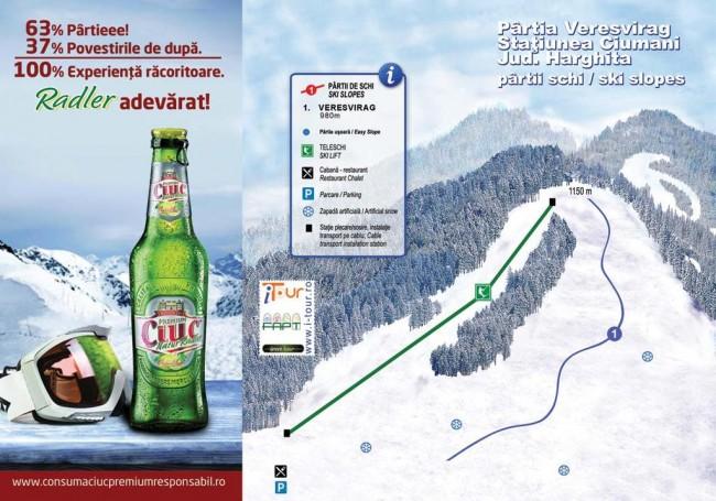 Harta partii Ververisag, Ciumani, Harghita
