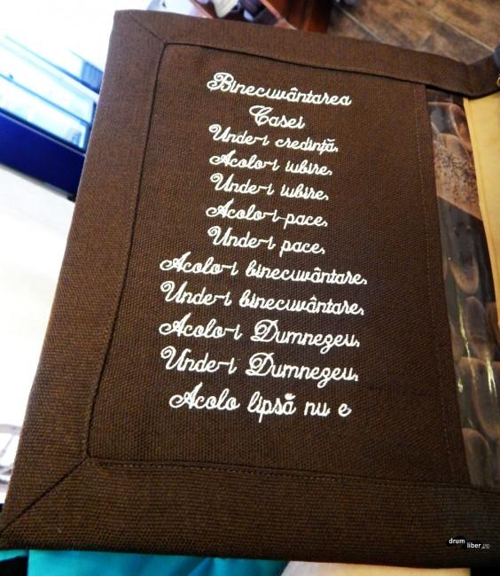 Binecuvântarea de la restaurantul Trei Secui (Harom Szekely) din Miercurea Ciuc