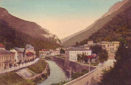 Băile Herculane la începutul secolului 20