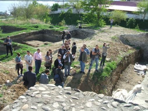 Ghidul nostru (arheolog) povesteste despre ce inseamna cetatea medievala din Severin