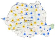 Poza site cu obiectivele de vizitat in Romania