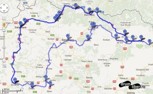 Traseu Călător prin România