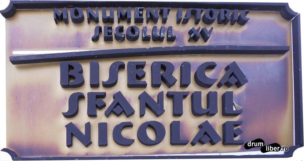 Biserica Sfântul Nicolae din Șcheii Brașovului