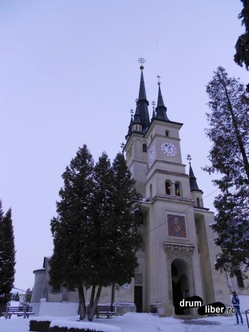 Biserica Sfântul Nicolae din Șcheii Brașovului, gazda Primei Școli Românești
