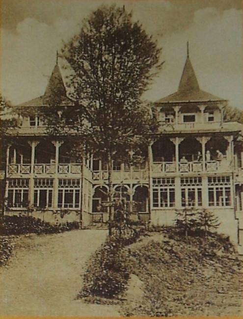 Sovata din trecut - Vila Cornelia 1929