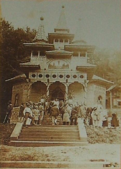 Sovata din trecut - Biserica Ortodoxă construită 1929