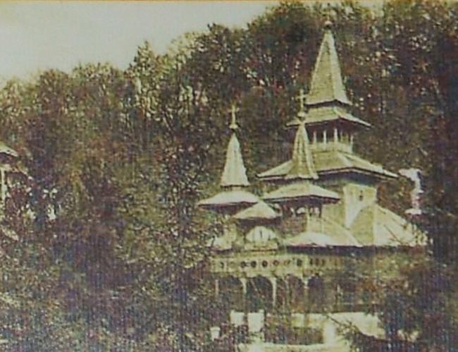 Sovata din trecut - Capela greco-catolică 1932