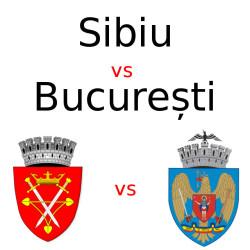Finala: Sibiu vs Bucuresti. Votați!