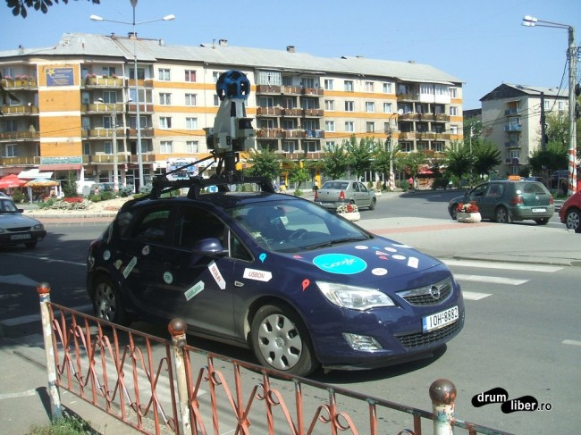 Mașina Google Maps - Street View