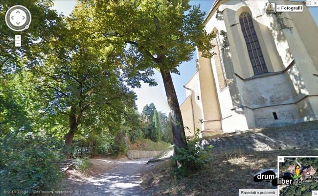 Sighișoara - Biserica din Deal (aleea)