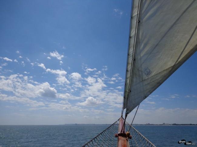 Velierul Adornate pe Marea Neagră (#litoralulmeu)