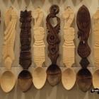Linguri din lemn la Sighișoara