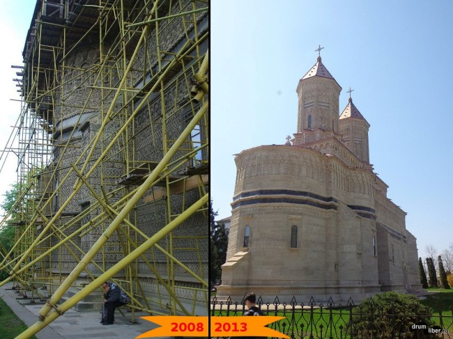 Biserica Trei Ierarhi (2008 - 2013)