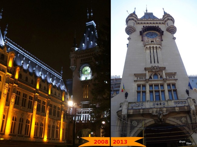 Palatul Unirii - turnul (2008-2013)