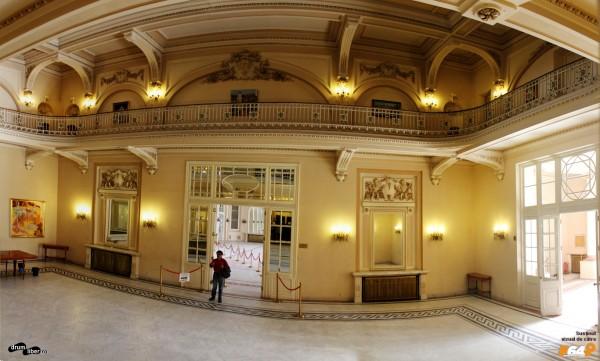 Cazinoul din Sinaia - Sala Oglinzilor (panoramică)