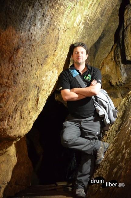 Poziția Drum Liber în Peștera Ialomiței