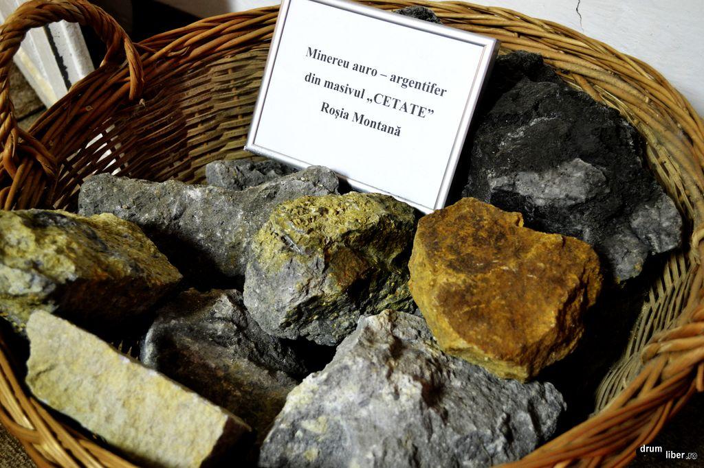 Minereu din masivul Cetatea