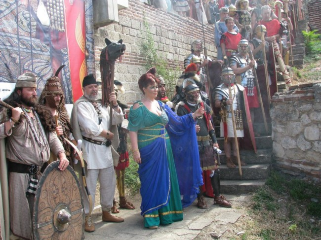 Tomiris, dacii și romanii, la final FAT 2012