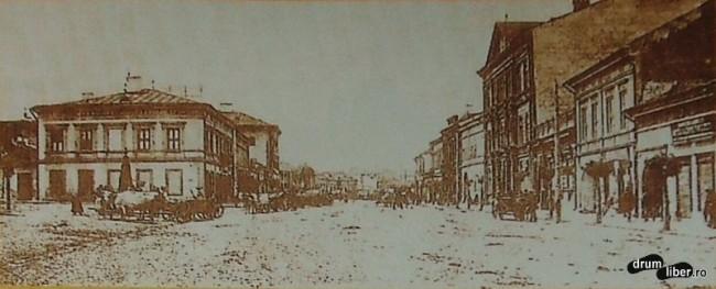 Actuala strada 22 decembrie 1989 la inceputul secolului XX - foto 1904