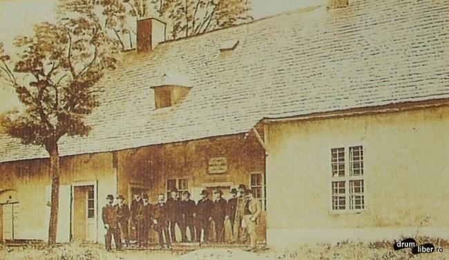 Casa unde a locuit matematicianul Bolyai Farkas intre 1806-1856 - foto 1911