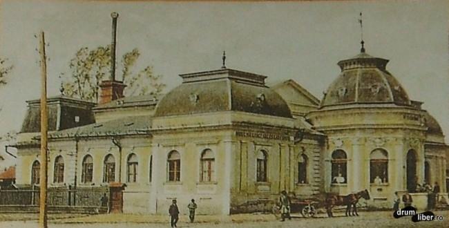 Cladiri care nu mai exista - baia comunala a functionat intre 1898-1944 - foto 1907