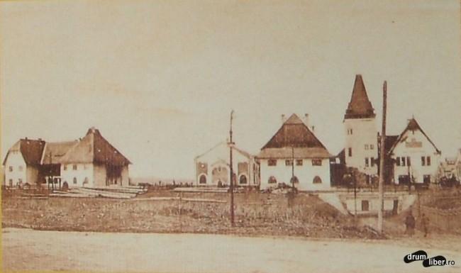 Dupa 1920 Targu Mures este al treilea oras din lume cu gaz metan - foto 1928