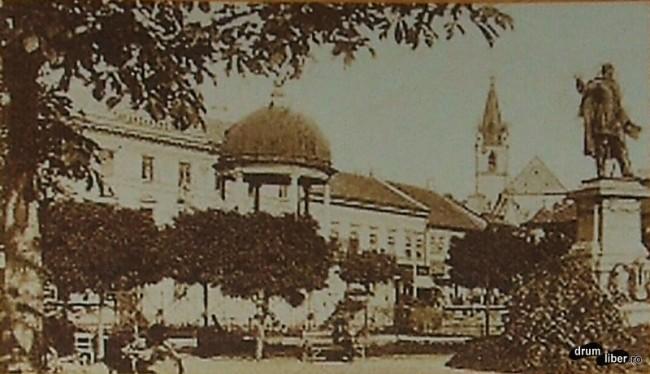 Fantana cantatoare pana in 1911 a fost un simbol al orasului Targu Mures