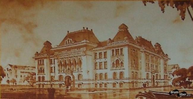 Fosta prefectura actuala primarie finalizata 1940