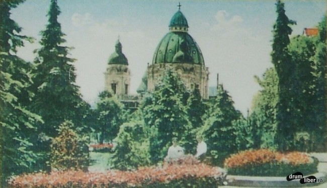 Greco catolicii au avut biserica din 1750 catedrala mica e din 1936 - foto 1937