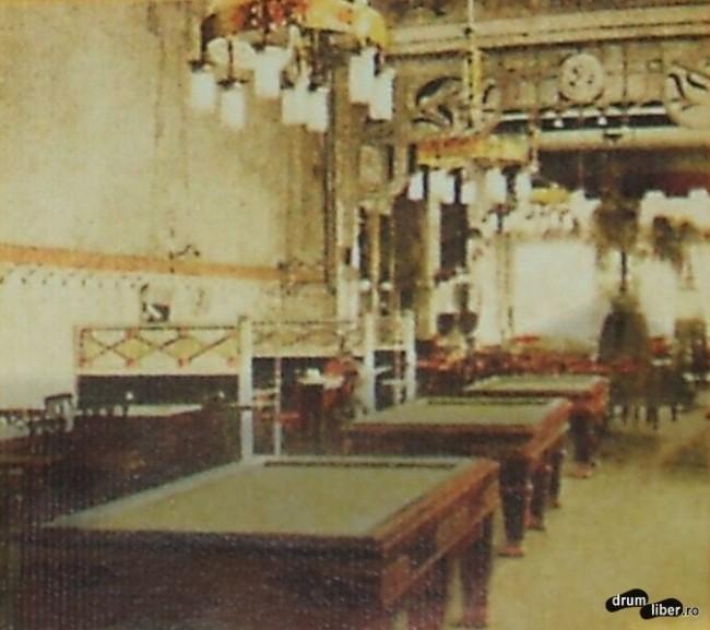 Hotel Royal avea cafenea cu mese de biliard - foto 1913