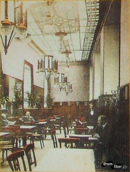 Hotel Royal avea cafenea - foto 1913