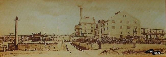Industrie - fabrica de zahar Targu Mures - foto 1923