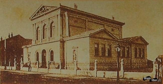 Muzeul stiintelor naturii ridicat in stil neoclasic 1893 - foto 1908