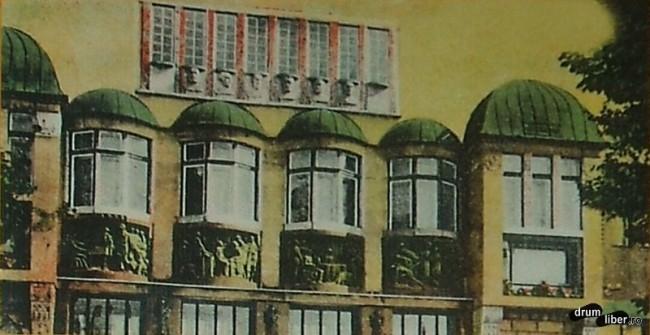 Palatul Culturii - foto 1914 vitralii
