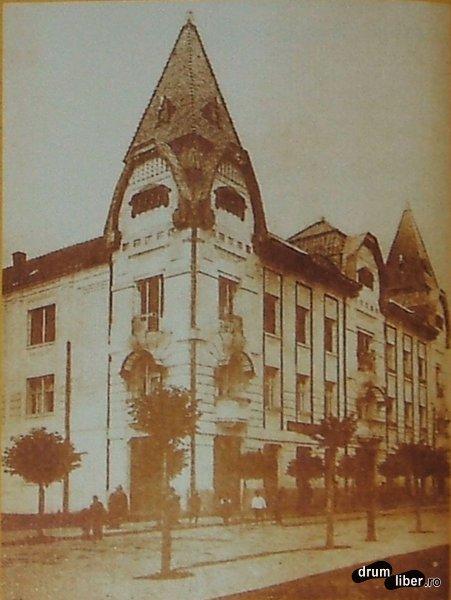 Palatul Pensiilor 1909 langa Palatul Culturii dar mai vechi decat el - foto 1914