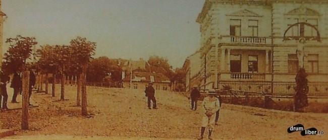 Pe actuala Mihai Viteazu - foto 1912