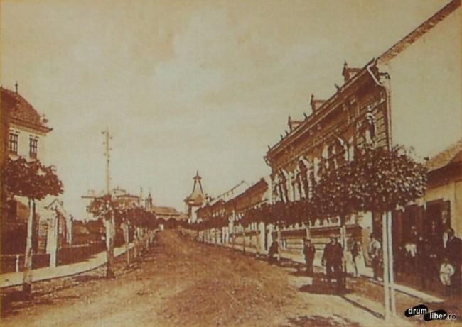 Pe actuala Mihai Viteazu - foto 1914