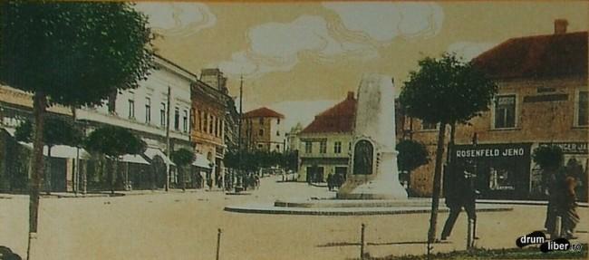 Petofi Sandor ulterior Monumentul Ostasului Roman - foto 1913