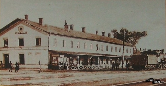Primul tren in Targu Mures a sosit in dimineata de 20 noiembrie 1871 - foto 1931