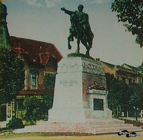 Statui care nu mai exista Revolutia de la 1848 Avram Iancu - foto 1931