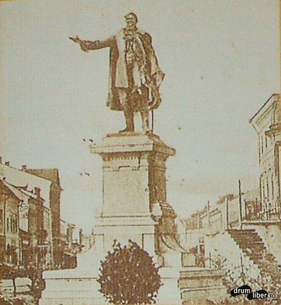 Statui care nu mai exista Revolutia de la 1848 Kossuth Lajos - foto 1912
