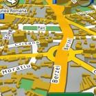 Bulevardul Uranus București în hărțile GPS Garmin 2014 - RO.A.D.2014.10 (Garmin-Nuvi-3790)
