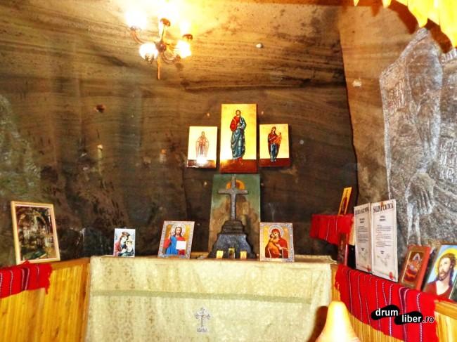 Capela Orizont 1 - Salina Cacica - vezi crucea de sare