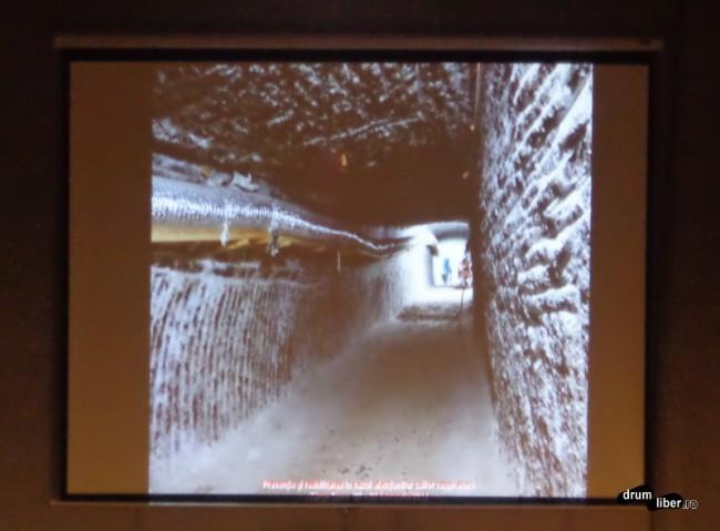 Noul tunel dintre sala Terezia și Iosif